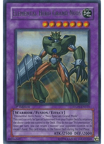 Elemental Hero Grand Neos - STON-EN035 - Ultra Rare