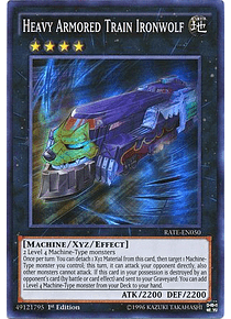 Heavy Armored Train Ironwolf - RATE-EN050 - Super Rare