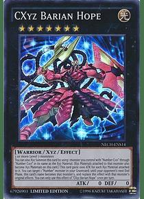 CXyz Barian Hope - NECH-ENS14 - Super Rare