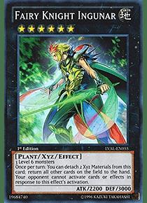 Fairy Knight Ingunar - LVAL-EN055 - Super Rare