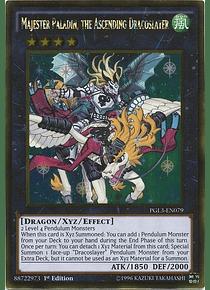 Majester Paladin, the Ascending Dracoslayer - PGL3-EN079 - Gold Rare