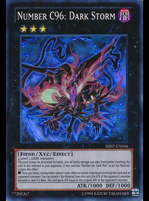 Number C96: Dark Storm - SHSP-EN046 - Super Rare