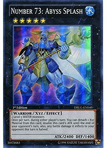 Number 73: Abyss Splash - DRLG-EN040 - Super Rare