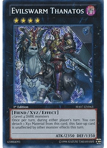 Evilswarm Thanatos - HA07-EN063 - Secret Rare