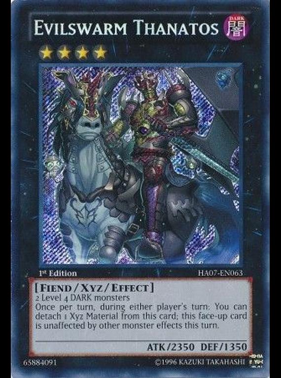 Evilswarm Thanatos - HA07-EN063 - Secret Rare