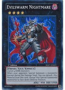 Evilswarm Nightmare - HA07-EN023 - Super Rare