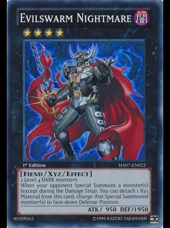 Evilswarm Nightmare - HA07-EN023 - Super Rare