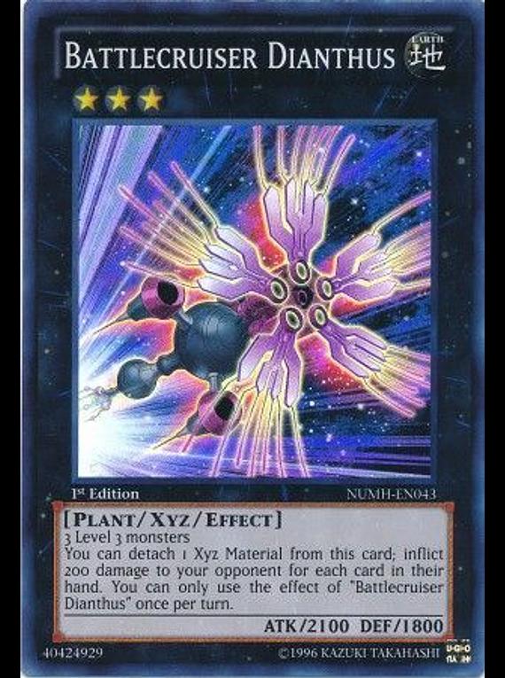 Battlecruiser Dianthus - NUMH-EN043 - Super Rare