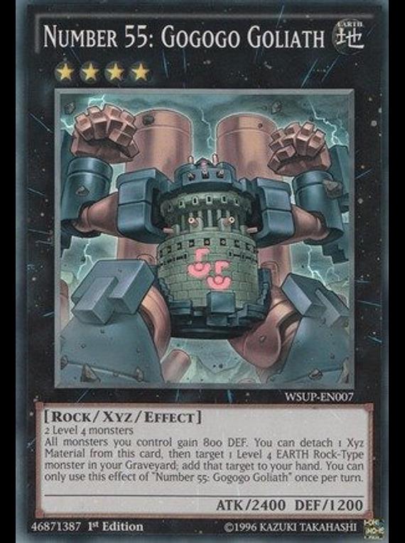 Number 55: Gogogo Goliath - WSUP-EN007 - Super Rare