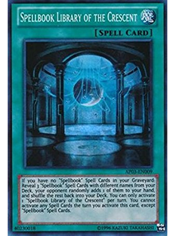 Spellbook Library of the Crescent - AP03-EN009 - Super Rare