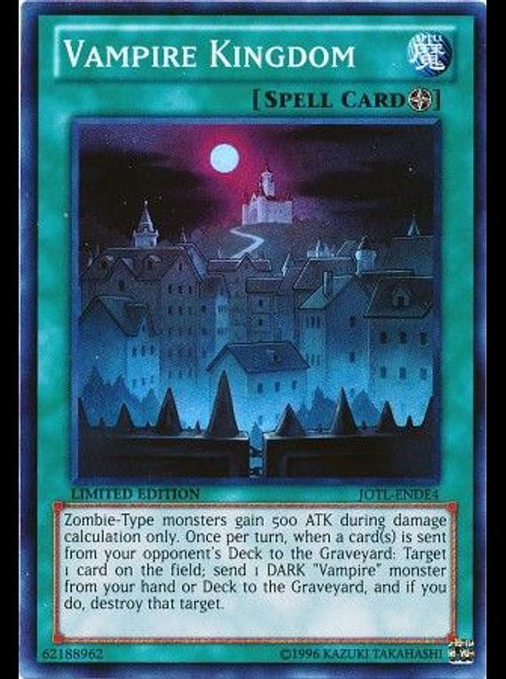 Vampire Kingdom - JOTL-ENDE4 - Super Rare