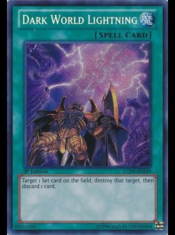 Dark World Lightning - LCJW-EN249 - Secret Rare