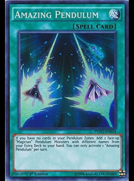 Amazing Pendulum - PEVO-EN034 - Super Rare