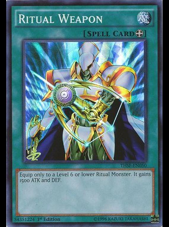 Ritual Weapon - THSF-EN050 - Super Rare