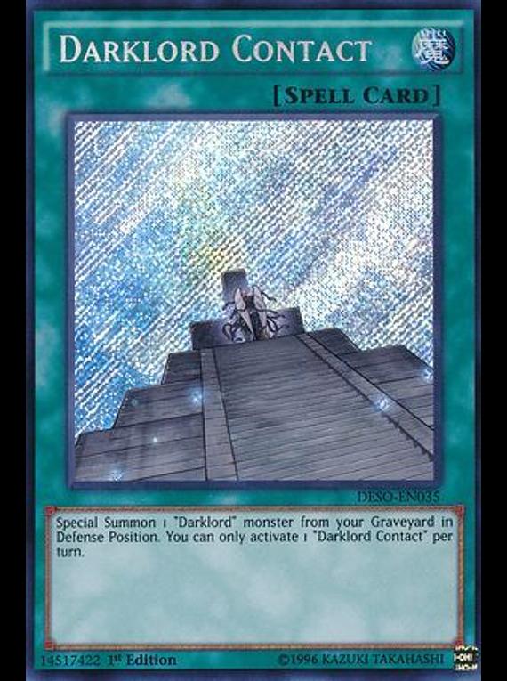 Darklord Contact - DESO-EN035 - Secret Rare