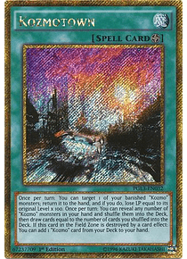 Kozmotown - PGL3-EN032 - Gold Secret Rare