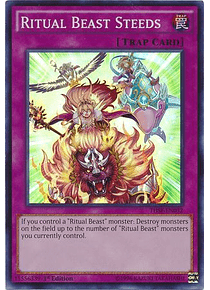 Ritual Beast Steeds - THSF-EN032 - Super Rare