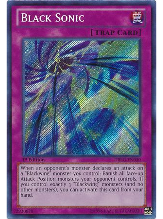 Black Sonic - DRLG-EN030 - Secret Rare