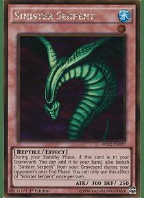 Sinister Serpent - PGL2-EN027 - Gold Rare