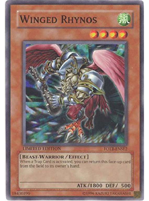 Winged Rhynos - FOTB-ENSE2 - Super Rare