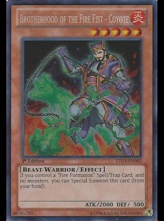 Brotherhood of the Fire Fist - Coyote - LTGY-EN082 - Secret Rare