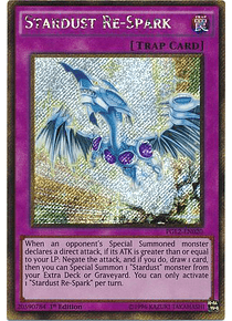 Stardust Re-Spark - PGL2-EN020 - Gold Secret Rare