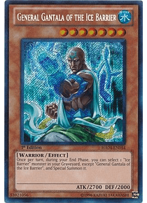 General Gantala of the Ice Barrier - HA04-EN054 - Secret Rare