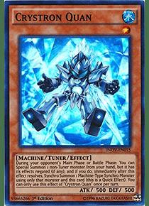 Crystron Quan - INOV-EN015 - Super Rare