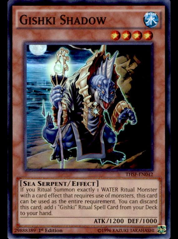 Gishki Shadow - THSF-EN042 - Super Rare