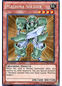 Machina Soldier - LCYW-EN168 - Secret Rare