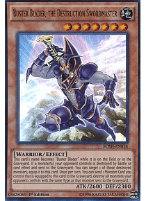 Buster Blader, the Destruction Swordmaster - BOSH-EN018 - Ultra Rare (español)