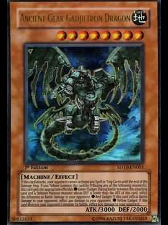 Ancient Gear Gadjiltron Dragon - SD10-EN001 - Ultra Rare
