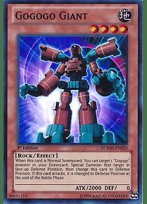 Gogogo Giant - NUMH-EN020 - Super Rare