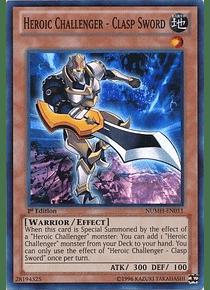 Heroic Challenger - Clasp Sword - NUMH-EN011 - Super Rare