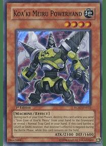 Koa'ki Meiru Powerhand - RGBT-EN022 - Super Rare