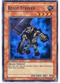 Beast Striker - RGBT-EN085 - Super Rare