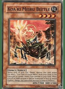 Koa'ki Meiru Beetle - SOVR-EN000 - Super Rare