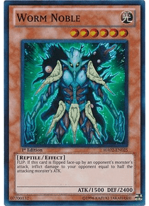 Worm Noble - HA02-EN025 - Super Rare