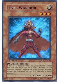 Level Warrior - RGBT-EN002 - Super Rare