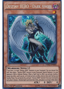 Destiny HERO - Dark Angel - DESO-EN005 - Secret Rare