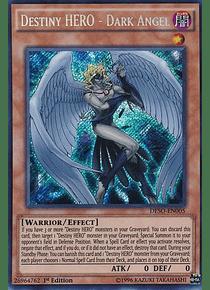 Destiny HERO - Dark Angel - DESO-EN005 - Secret Rare