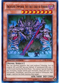 Archfiend Emperor, the First Lord of Horror - JOTL-ENDE1 - Ultra Rare