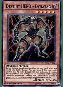 Destiny HERO - Dynatag - DESO-EN002 - Super Rare