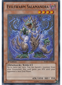 Evilswarm Salamandra - HA07-EN052 - Super Rare