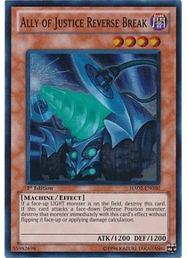 Ally of Justice Reverse Break - HA02-EN050 - Super Rare