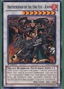 Brotherhood of the Fire Fist - Kirin - JOTL-EN042 - Rare