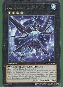 Ice Beast Zerofyne - LTGY-EN049 - Rare