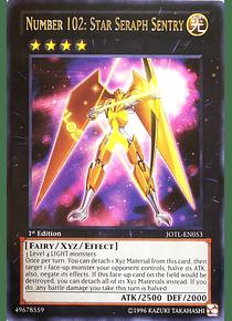 Number 102: Star Seraph Sentry - JOTL-EN053 - Rare