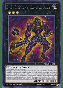 D/D/D Stone King Darius - MACR-EN045 - Rare