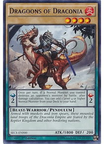 Dragoons of Draconia - SECE-EN000 - Rare